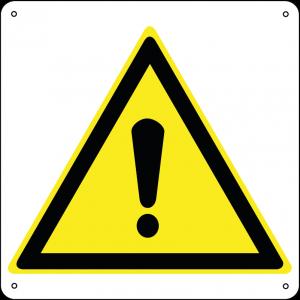 Pericolo Generico quadrato