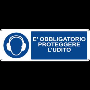 E' obbligatorio proteggere l'udito orizzontale