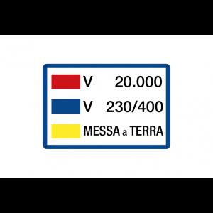 V 20.000 - V 230-400 - Messa a terra