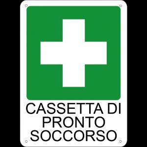 Cassetta di pronto soccorso verticale