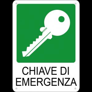 Chiave di emergenza verticale