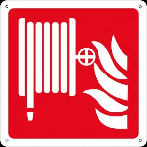 Lancia antincendio naspo quadrato