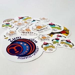 Stickers Adesivi Rotondi