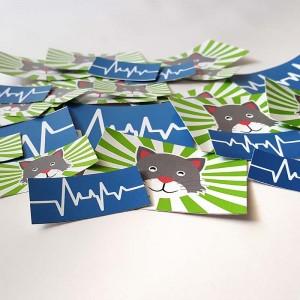 Stickers Adesivi Rettangolari