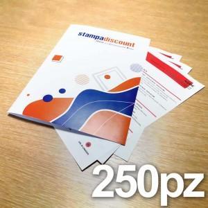 Cartelline - 250 copie