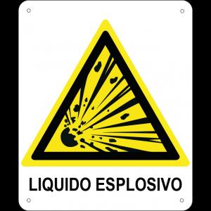 Liquido esplosivo verticale