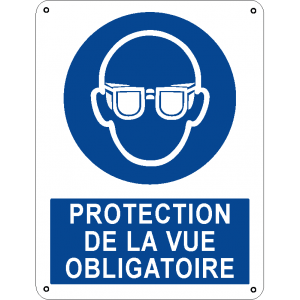 Protection de la vue obligatoire