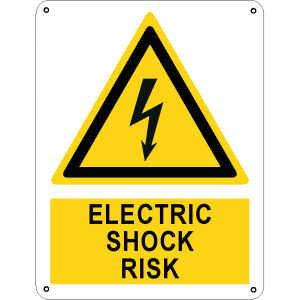 Electric shock risk