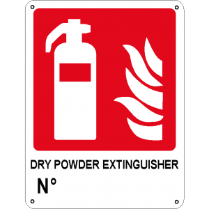 Dry powder extinguisher n°