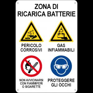 Zona di ricarica batterie