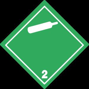 Classe 2 - Gas non infiammabili, non tossici - bianca