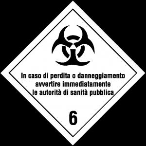 Classe 6 - Materie infettanti - testo 2