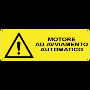 Motore ad avviamento automatico orizzontale