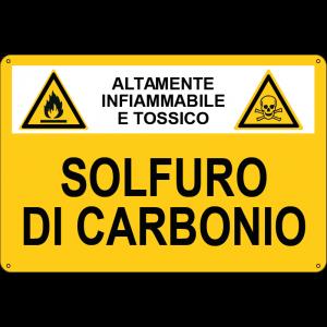 sostanza pericolosa Solfuro di Carbonio