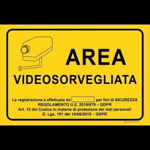 Area videosorvegliata - La registrazione è effettuata da [...]