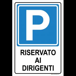 Parcheggio - Riservato ai dirigenti