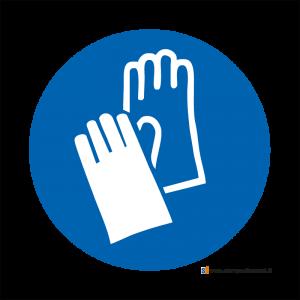 Obbligatorio indossare i guanti protettivi - Bordo Macchina
