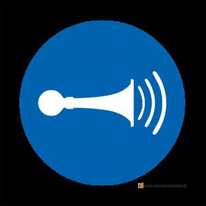 Obbligatorio azionare l'avvisatore acustico - Bordo Macchina