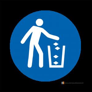 Obbligatorio usare il cestino - Bordo Macchina