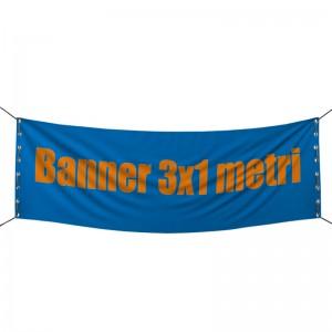 banner tessuto pvc 450gr 3x1 metri